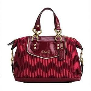 Coach Ashley Satchel Handbag.